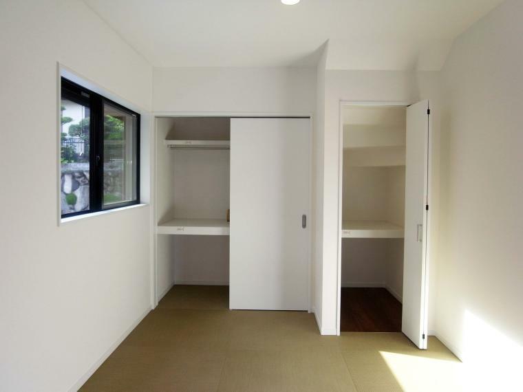 収納 和室4.5帖/収納 室内(2021年10月)撮影