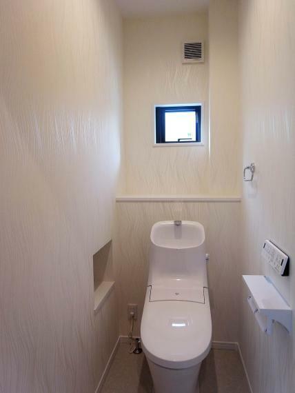 トイレ 1階トイレ 室内(2021年10月)撮影
