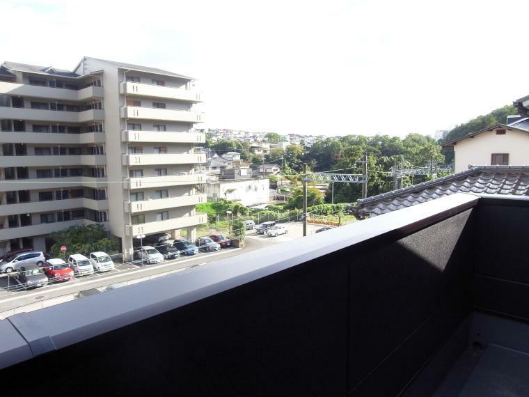 眺望 バルコニーからの眺望 室内(2021年10月)撮影
