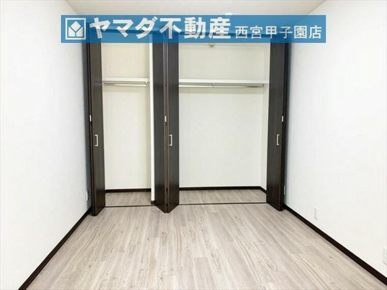 収納 洋室6.0帖 各居室に収納有り。