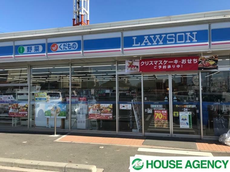 コンビニ ローソン春日井田楽町店 徒歩11分の場所に24時間営業のコンビニがあるので夜食の買い出しなどに便利です!