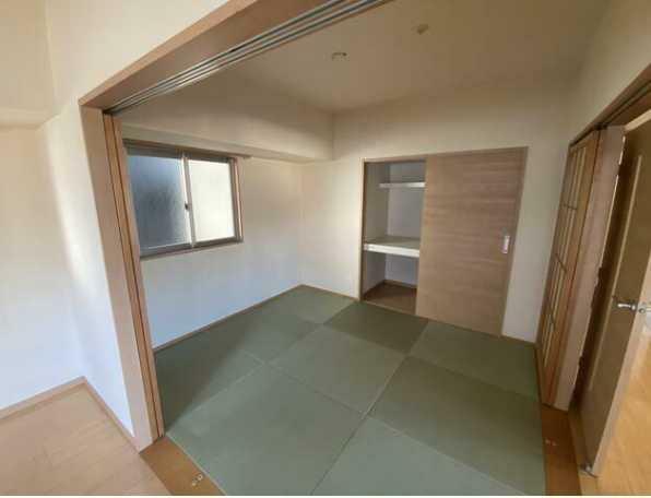 和室 LDKに面した和室4.5畳!クローゼット収納付!