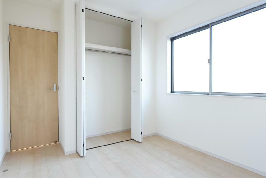 子供部屋 全居室収納完備でお部屋を広く快適にお使いいただけます。
