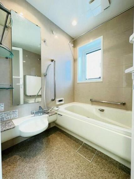 浴室 【浴室】1日の疲れをしっかりと癒すゆっくりとくつろげるユニットバス!