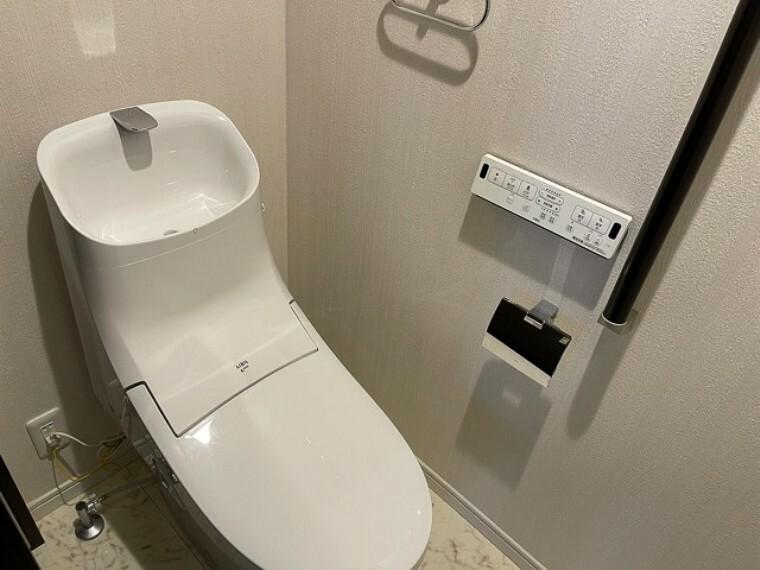 トイレ 清潔感のある落ち着いた空間です。