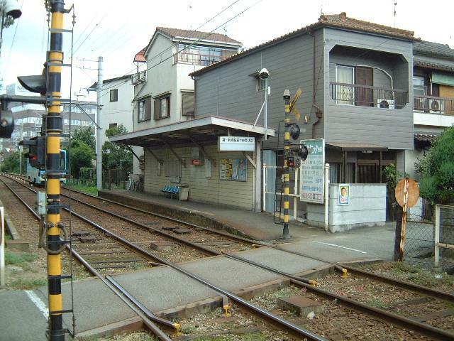 周辺の街並み 阪堺電気軌道上町線 天神ノ森駅