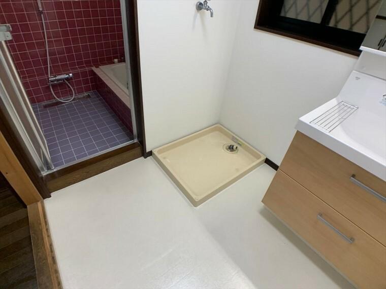 ランドリースペース 日々のお洗濯スペース