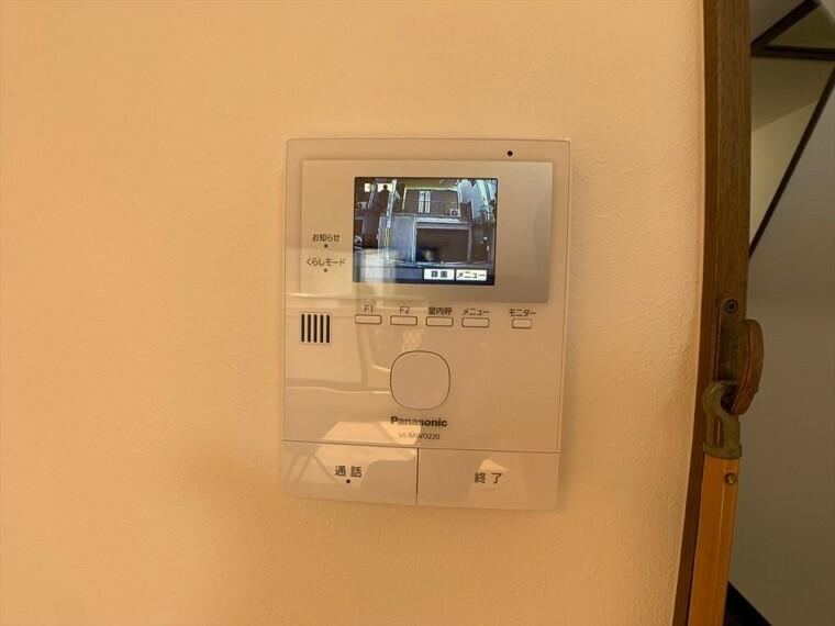 TVモニター付きインターフォン 防犯にも嬉しいモニター付き