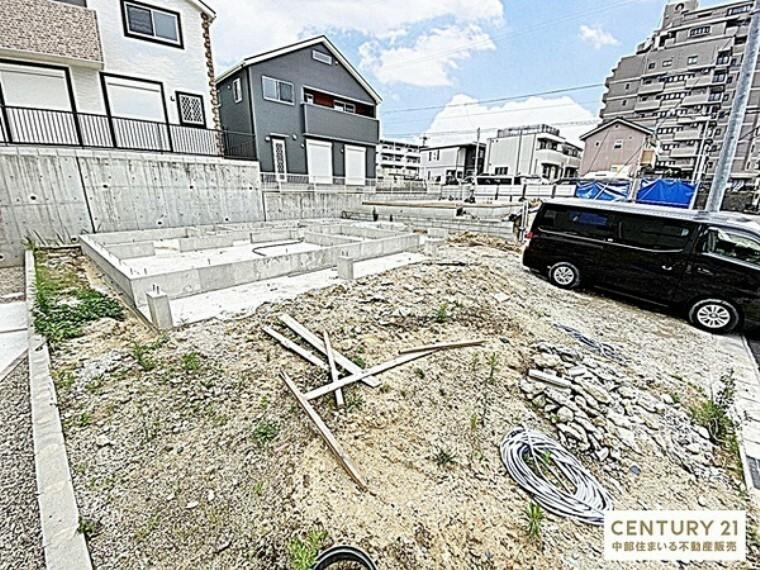 外観・現況 敷地面積:160.76平米 建物面積:101.86平米