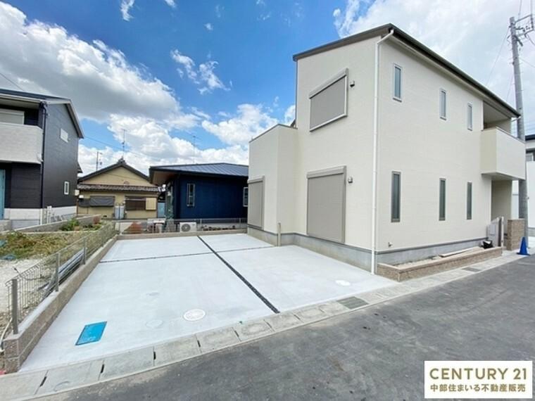 現況外観写真 岡崎市【矢作町】全8棟新築分譲住宅!!随時、現地案内会実施中です。お気軽にお問い合わせください。