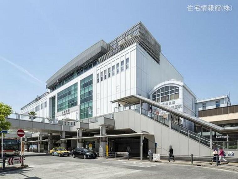 東海道本線「小田原」駅 距離3190m