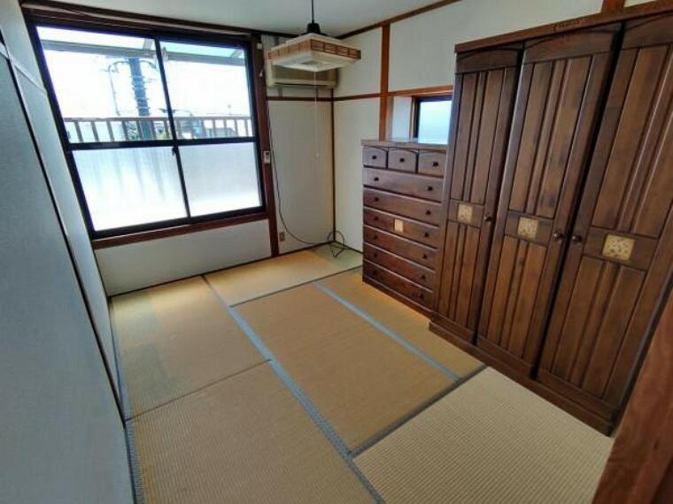 【リフォーム前】二階の和室になります。洋室に間取り変更を行います。