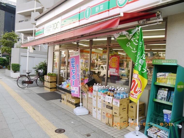 コンビニ 【コンビニエンスストア】ローソン100 板橋東山町店まで1019m