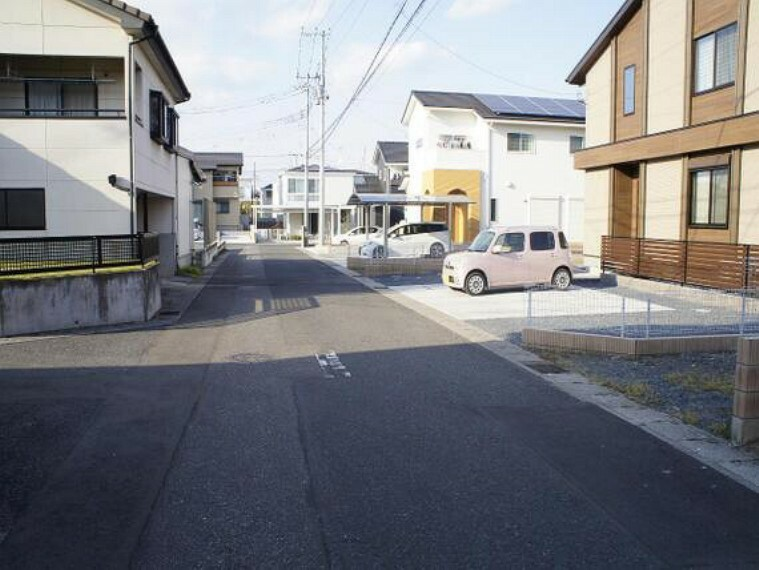 現況写真 是非、周辺環境も併せて現地をご覧ください。お問い合わせお待ちしております。