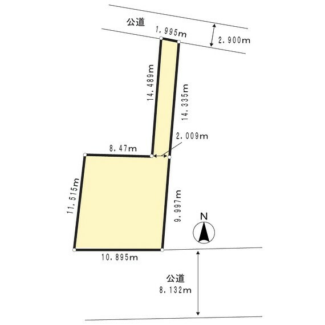 区画図 土地区画図