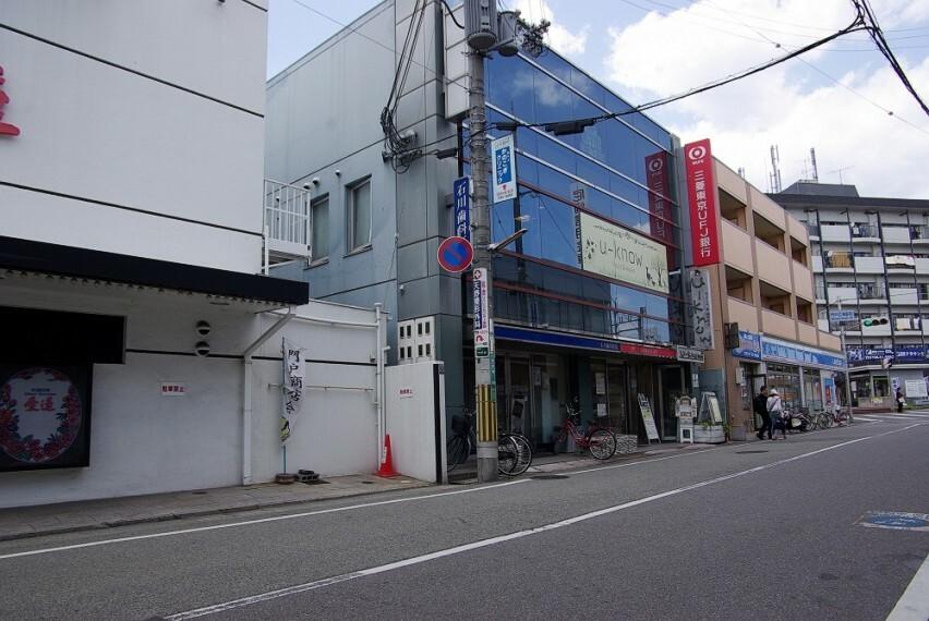 銀行 【銀行】三菱UFJ銀行 門戸ATMコーナーまで1588m