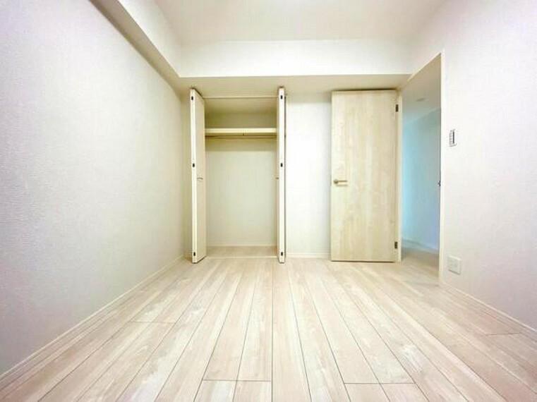 寝室 居住していく中でオーナー様だけの【マイホーム】に創り上げて下さい。