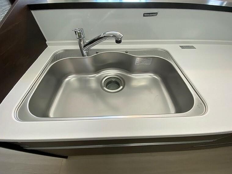 キッチン キッチン・シンクは清潔感もあり使い勝手も良さそうです
