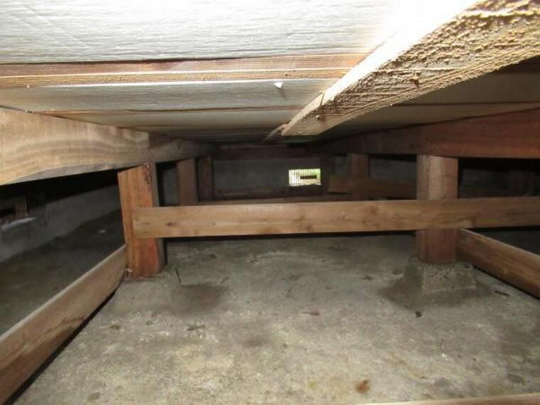 構造・工法・仕様 床下