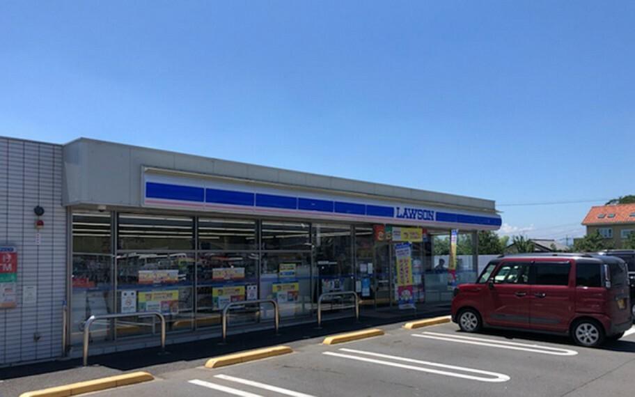 コンビニ ローソン高崎箕郷町西明屋店
