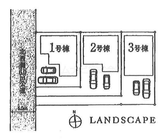 区画図 1号棟