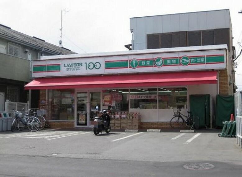 コンビニ 【コンビニエンスストア】ローソンストア100 志木本町まで630m