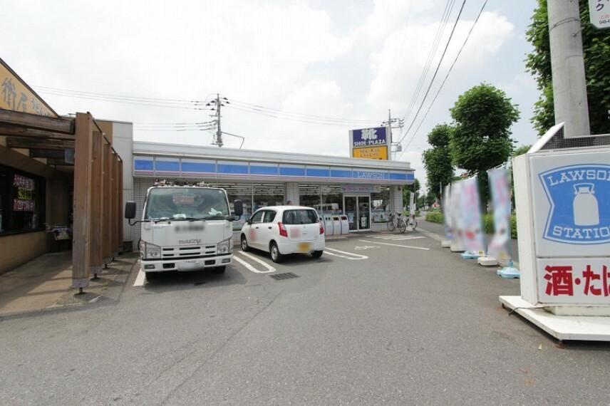 コンビニ 【コンビニエンスストア】ローソン 志木柏町まで850m