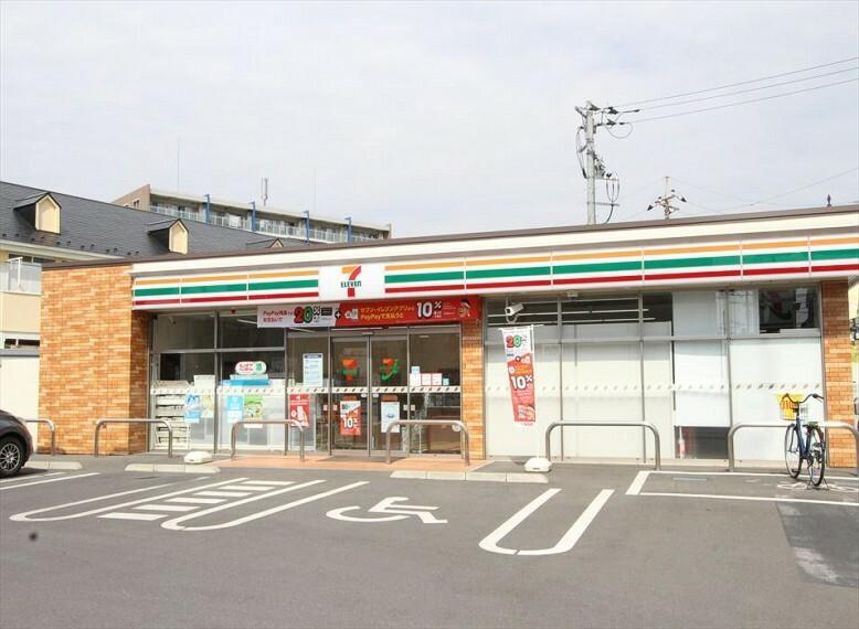 コンビニ 【コンビニエンスストア】セブンイレブン 富士見上沢1丁目店まで470m