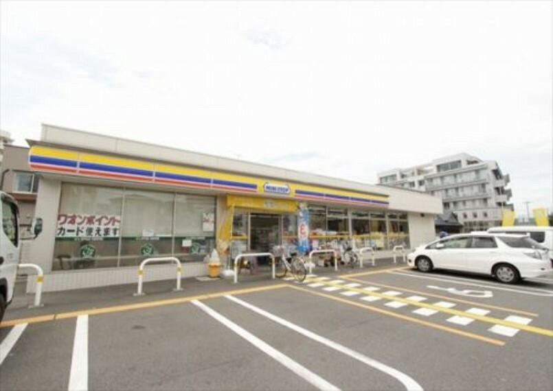 コンビニ 【コンビニエンスストア】ミニストップ富士見鶴瀬西店まで600m