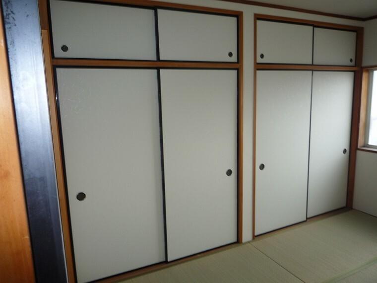 収納 2階和室収納 2021.8月撮影