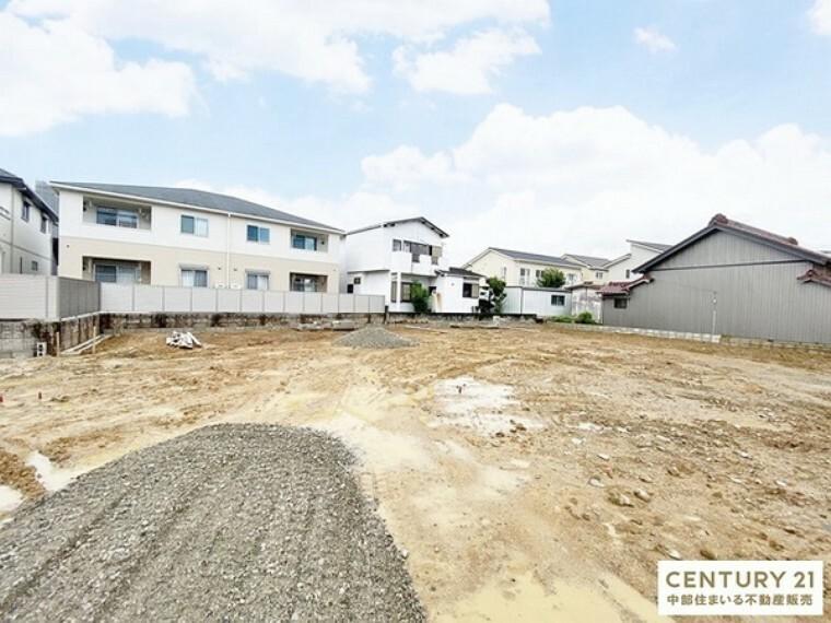 現況外観写真 豊田市【下林町】に全7棟の新築分譲住宅の誕生です!現地案内会実施中!お気軽にお問い合わせくだ!さい。