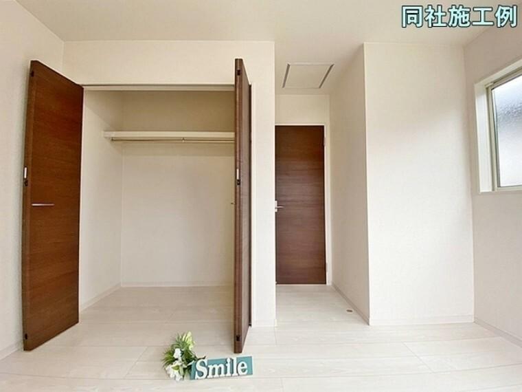 収納 全居室収納があります
