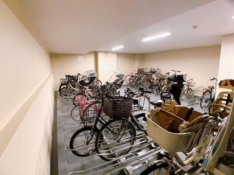 駐輪場 駐輪場 (2021年8月)撮影