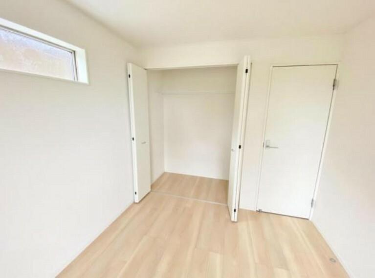 収納 全居室収納付きでお部屋もすっきり片付きます!