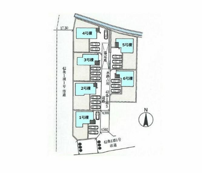 区画図 5号棟