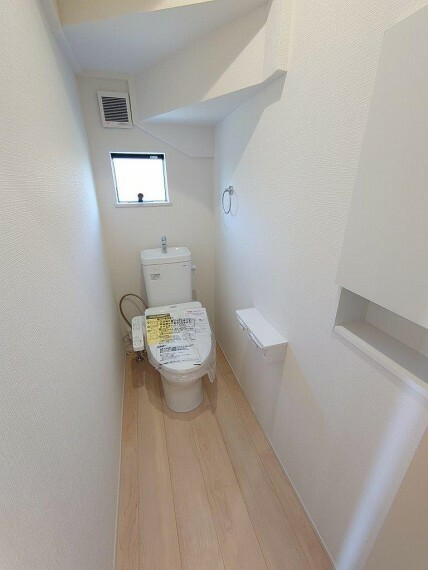 トイレ 1F《 現地写真 》現地見学や詳細は 株式会社レオホーム へお気軽にご連絡下さい。