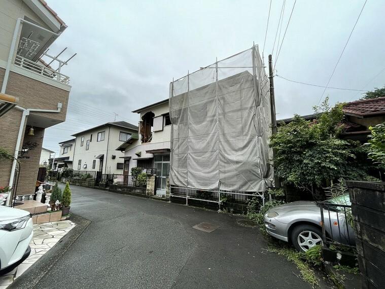 現況写真 南足柄市和田河原の売地のご紹介です。