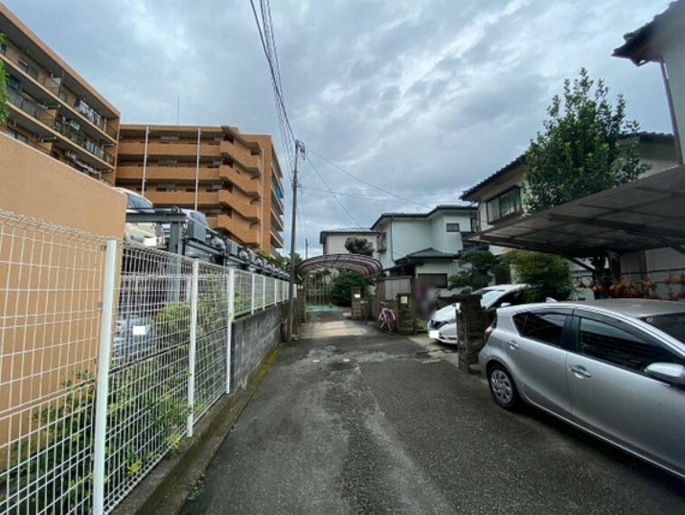 現況写真 ぜひ、周辺環境も合わせて現地をご覧ください。