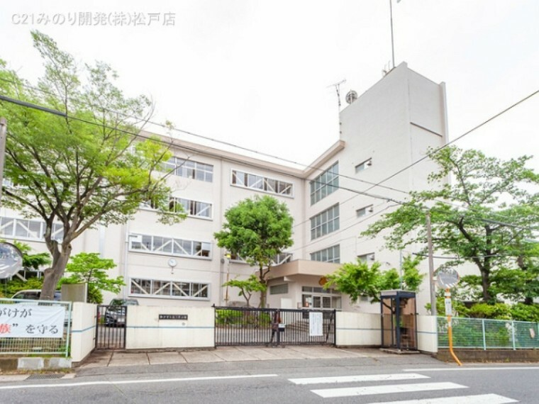 中学校 松戸市立第三中学校