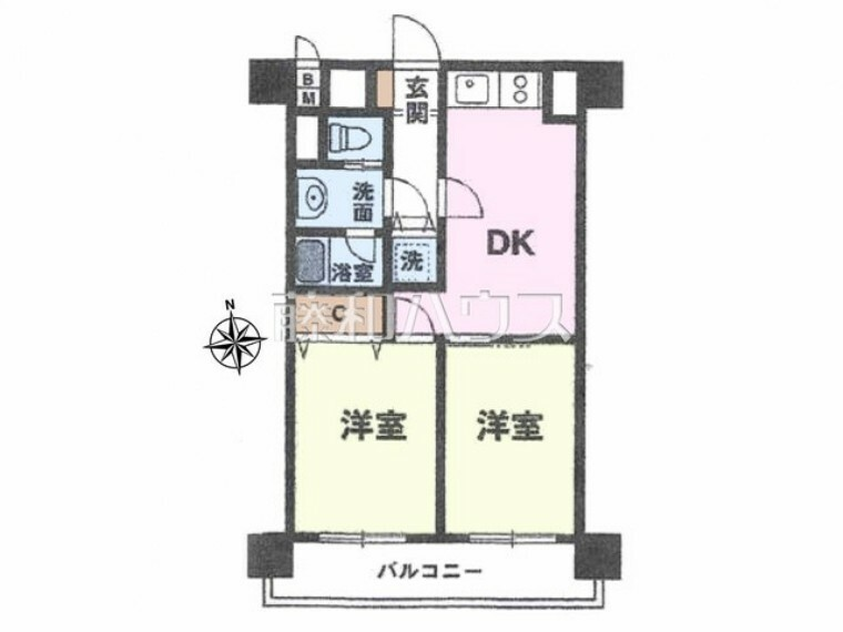 間取り図 間取図 【ハイネス立川】