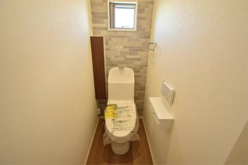 トイレ 2階にもトイレがあるので安心です