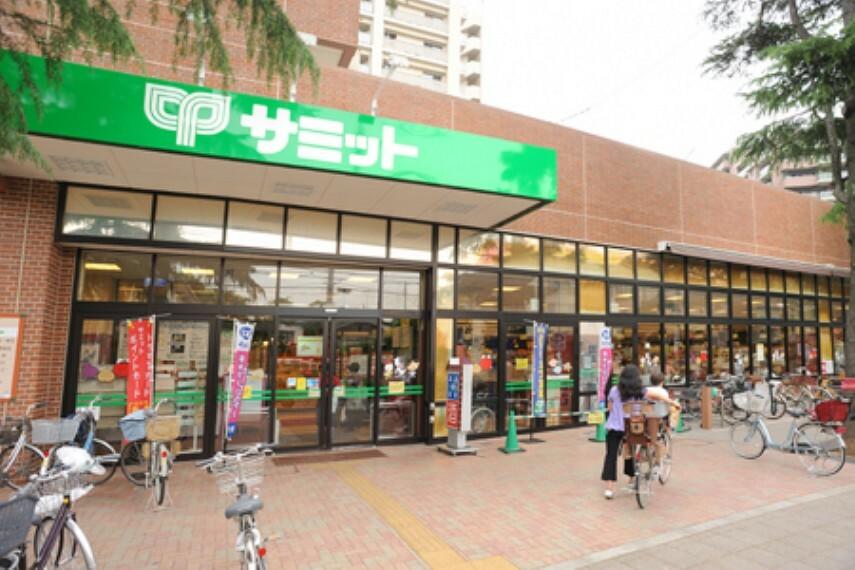 スーパー 【スーパー】サミットストア千歳台店まで1117m