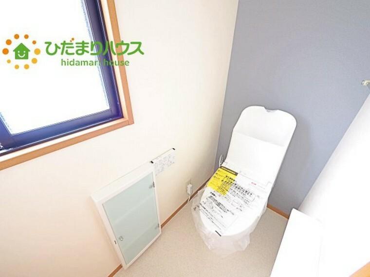 トイレ 1・2階にトイレあり。階段を降りなくてもいいので、高齢者の方も優しい 彡