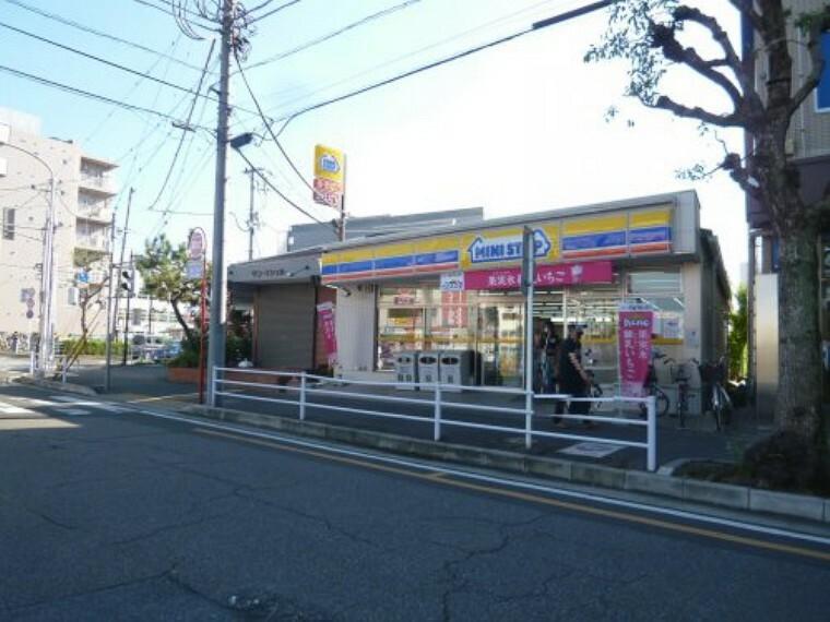 コンビニ 【コンビニエンスストア】ミニストップ せんげん台駅前店まで230m