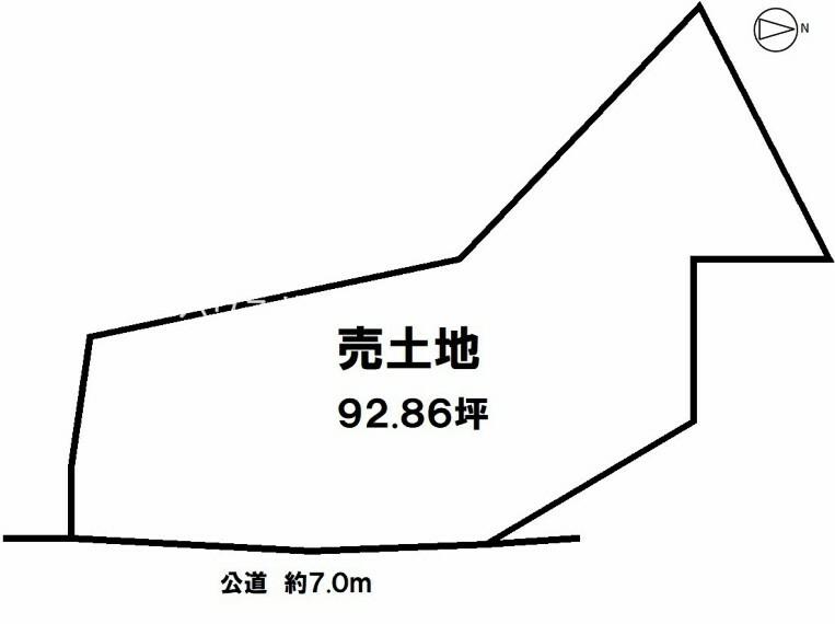 土地図面 名鉄河和線「上ゲ駅」徒歩4分 詳しくはお問合せ下さい!