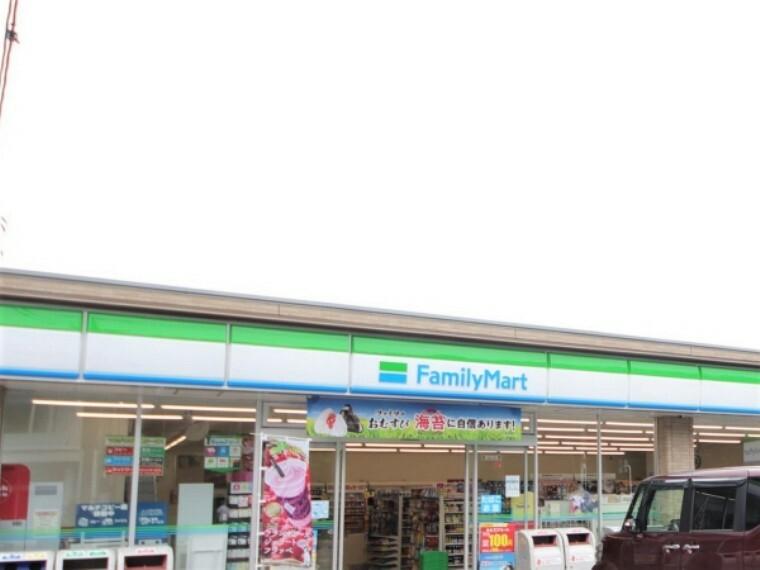 コンビニ ファミリーマート竹山団地店
