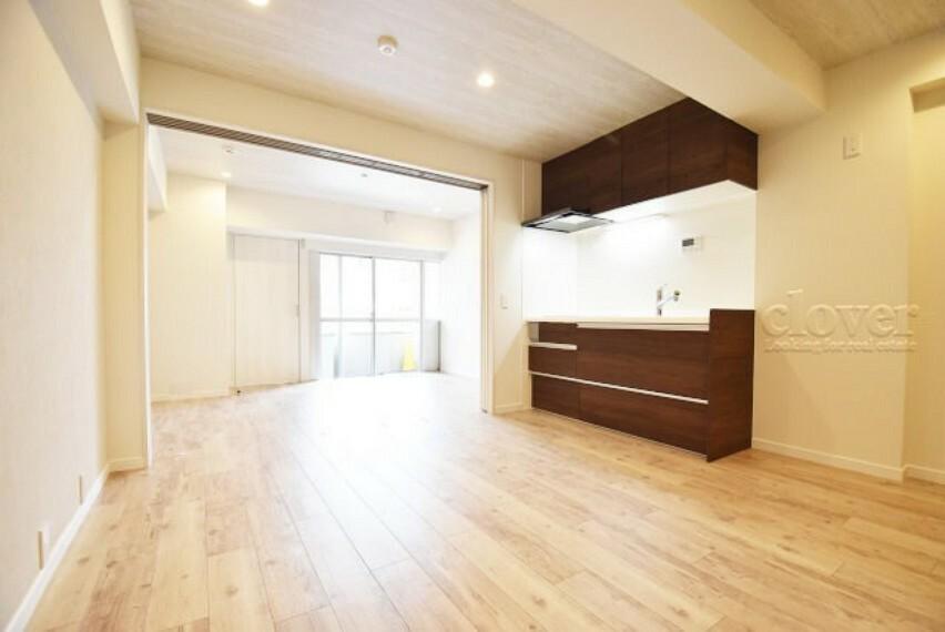 居間・リビング リビングダイニングキッチン 陽当り良好でお家時間を快適に過ごせます