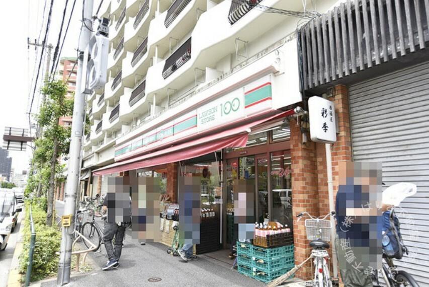 コンビニ ローソンストア100東新小岩店