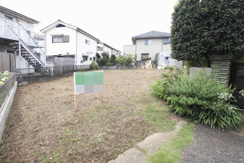 現況写真 春日部市栄町1丁目 売地 敷地ゆったり約71坪あります!