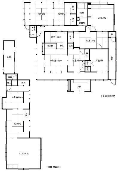 外観写真 建物 配置図